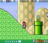 онлайн игра Super Mario Advance 4 - Super Mario 3 + Mario Brothers