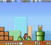 онлайн игра Super Mario Advance 4 - Super Mario Bros. 3