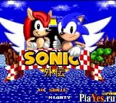 онлайн игра Sonic gaiden