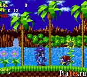онлайн игра Mecha Sonic in Sonic the Hedgehog / Mecha Sonic in Sonic 1