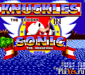 онлайн игра Knuckles in Sonic 1