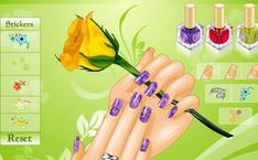 Рисунки На Ногтях Цветы Фото