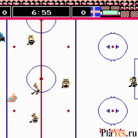 онлайн игра Ice Hockey / Хоккей на льду
