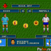 онлайн игра Super Kick Off / Супер Развод Мяча