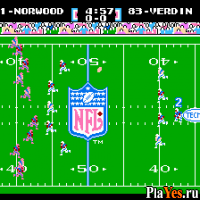 онлайн игра Tecmo Super Bowl / Текмо Супер шар