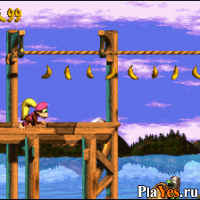 онлайн игра Donkey Kong Country 3 - Dixie Kong's Double Trouble