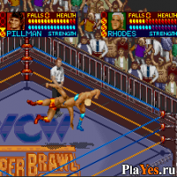 онлайн игра WCW Super Brawl Wrestling