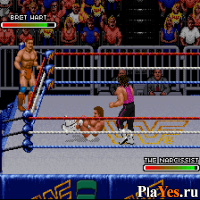 онлайн игра WWF Royal Rumble