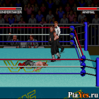 онлайн игра WWF Super WrestleMania