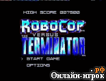онлайн игра Robocop vs. the Terminator