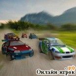 онлайн игра Turbo Rally / Турбо-ралли