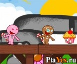 онлайн игра Super gingerbread man / Пряник