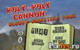онлайн игра Roly-Poly Cannon: Bloody Monsters
