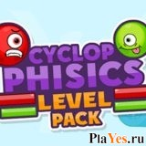 онлайн игра Cyclop Physics Level Pack