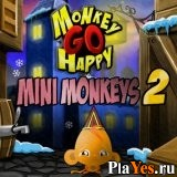 онлайн игра Monkey Go Happy: Mini Monkeys 2
