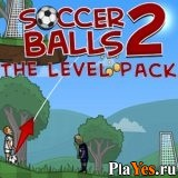 онлайн игра Soccer Balls 2: Level Pack