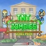 онлайн игра TNT Zombies: Level Pack