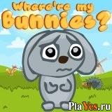 онлайн игра Where're my Bunnies?