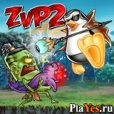 онлайн игра Zombies vs Penguins 2