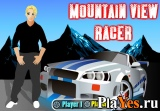 онлайн игра Mountain view racer / Гонка в горной местности
