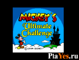 онлайн игра Mickey's Ultimate Challenge