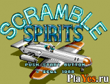 онлайн игра Scramble Spirits