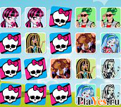 онлайн игра Monster High Memory