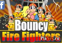 онлайн игра Bouncy fire fighters