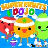 онлайн игра Super Fruits Dojo