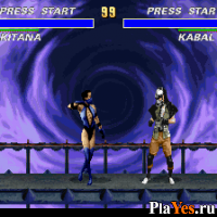 онлайн игра Ultimate Mortal Kombat 3