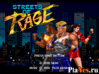 ������ ���� Streets of Rage / ����� ������