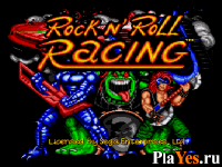 Rock n' Roll Racing / Гонки под рок'н'ролл