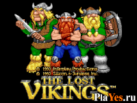 онлайн игра Lost Vikings, The