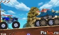 онлайн игра Monster Truck Assault