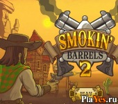 онлайн игра Smokin' Barrels 2