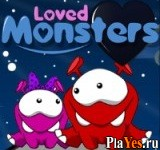 онлайн игра Loved Monsters