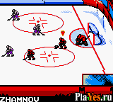 онлайн игра NHL Blades of Steel 2000