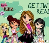 онлайн игра Bratz Getting Ready