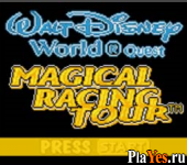 онлайн игра Walt Disney World Quest - Magical Racing Tour