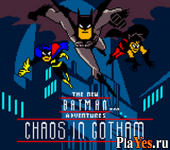 онлайн игра New Batman Adventures, The - Chaos in Gotham