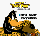 онлайн игра Daffy Duck - Fowl Play