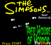 онлайн игра Simpsons, The - Night of the Living Treehouse of Horror