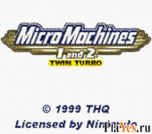 онлайн игра Micro Machines 1 and 2 - Twin Turbo