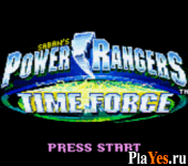 Power Rangers - Time Force