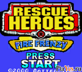 онлайн игра Rescue Heroes - Fire Frenzy