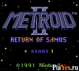 онлайн игра Metroid II - Return of Samus