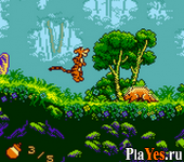 онлайн игра Pooh and Tigger's Hunny Safari