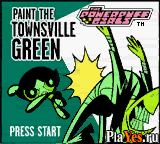 ������ ���� Powerpuff Girls, The - Paint the Townsville Green