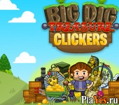 онлайн игра Big Dig: Treasure Clickers