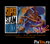 онлайн игра Magic Johnson's Super Slam Dunk